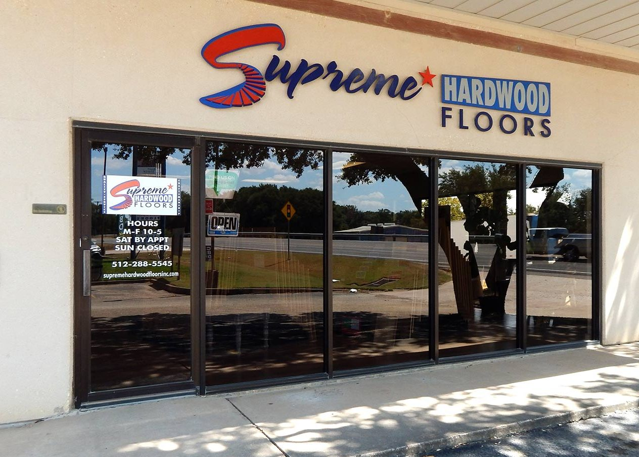 Supreme Hardwood Floors Showroom