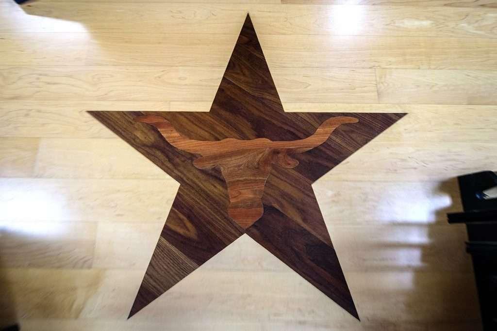 Custom wood floor