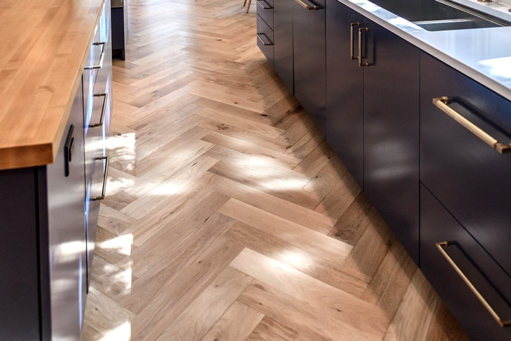 herringbone wood floor, solid wood floor