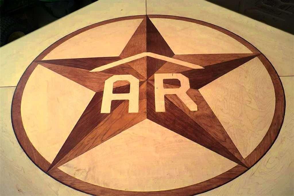 Custom Hardwood Floor Inlays